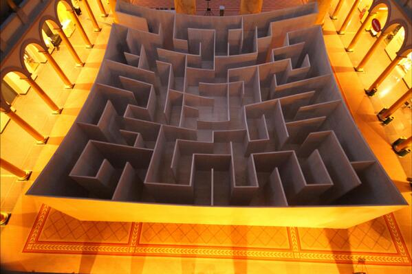 BIG Maze Opens at National Building Museum – Via ArchDaily.Com